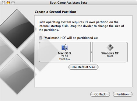 Apple embraces the dual boot